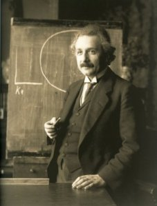 Science and Religion: Einstein in 1921.
