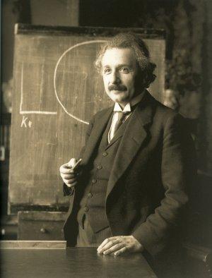 Science and Religion: Einstein in 1921.